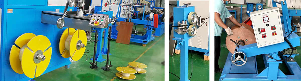 Optical Cable rewinding machine